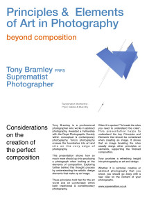 Principles & Elements of Art in Photography - Beyond Composition