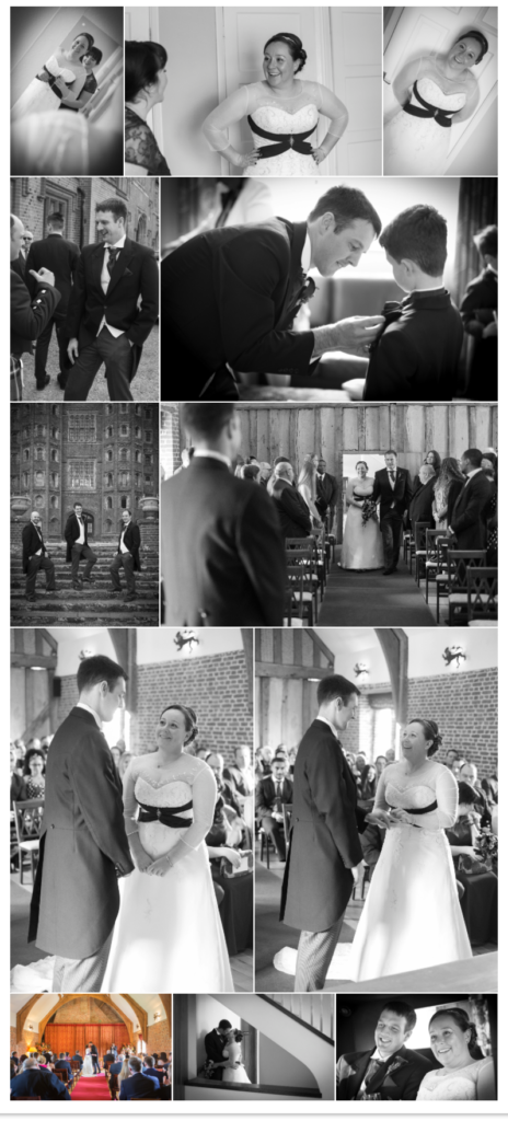Wedding Day Layer Marney Tower
