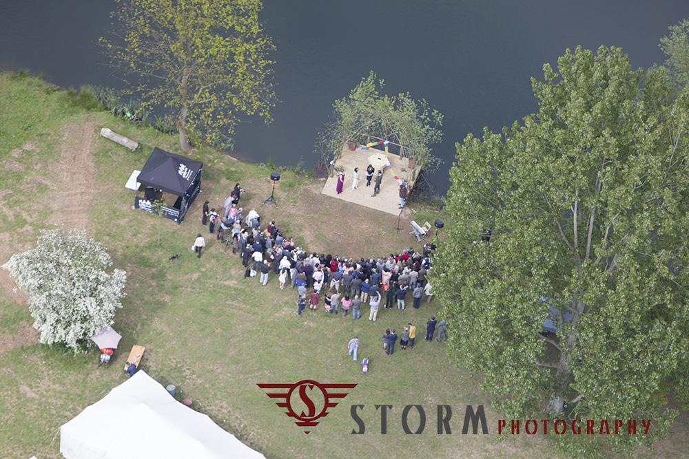 Aerial Wedding 3