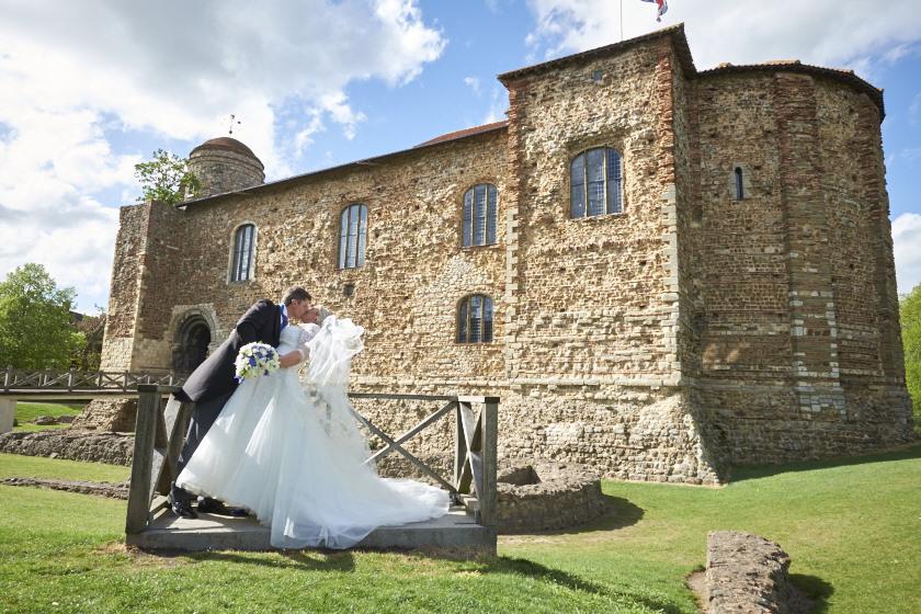 Colchester Castle Essex Wedding Sarah & Rupert