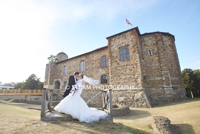 Colchester Castle Wedding Day