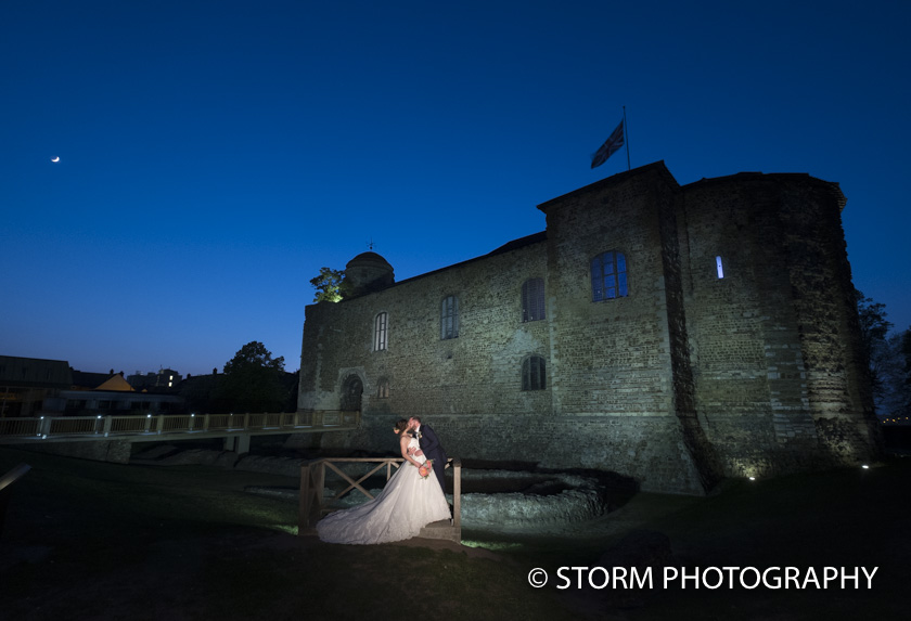 Colchester Castle Spring Wedding Day